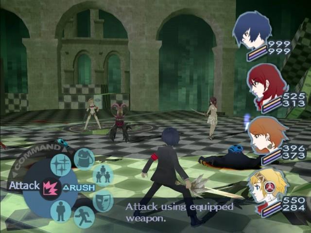 Persona 3 gameplay