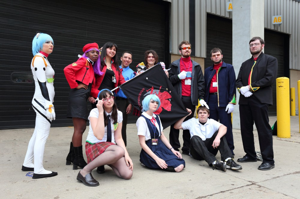 We wrapped up with a big Nerv pride shot.