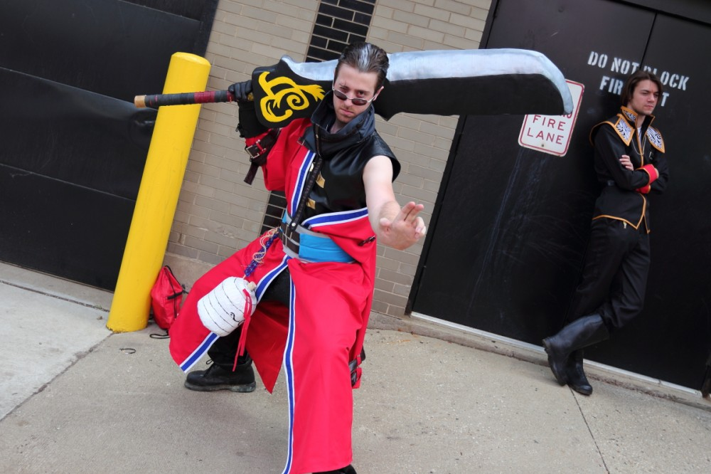 This Auron was a boss. Casual Squall in the background was a hoot too.