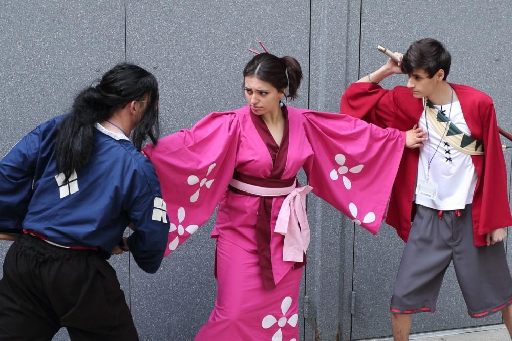 ACen 2014 Samurai Champloo cosplay