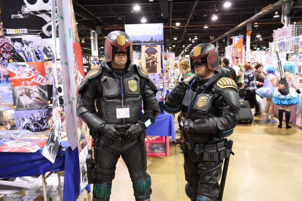 ACen 2014 Judge Dredd cosplay