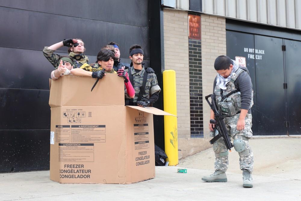 ACen 2014 Metal Gear cosplay