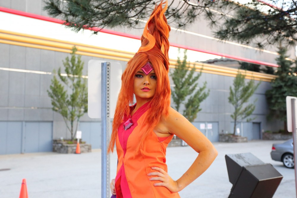 ACen 2014 Flame Princess cosplay