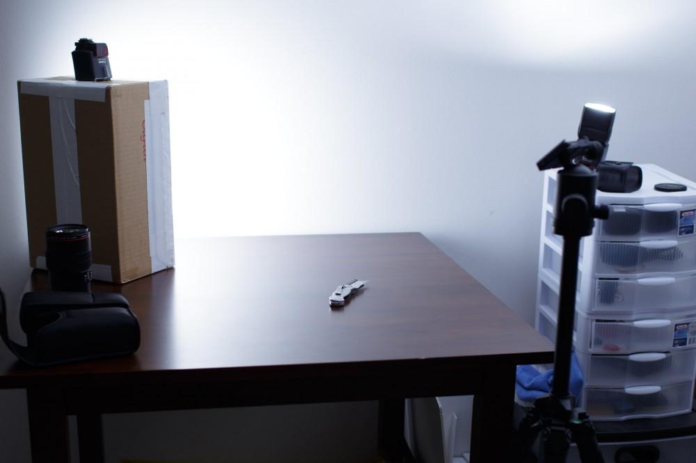 Final setup
