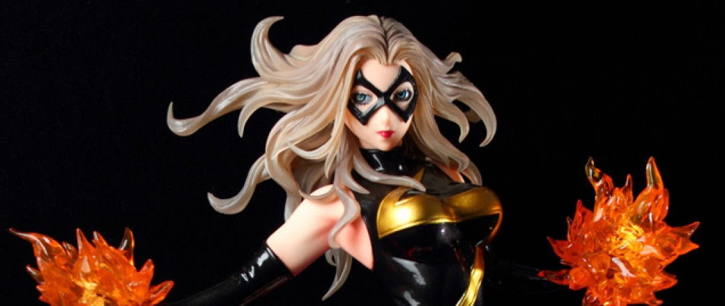 Figure Review: Marvel Bishoujo Ms. Marvel by Kotobukiya