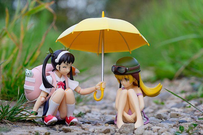 figma Mayoi Hachikuji and Shinobu Oshino