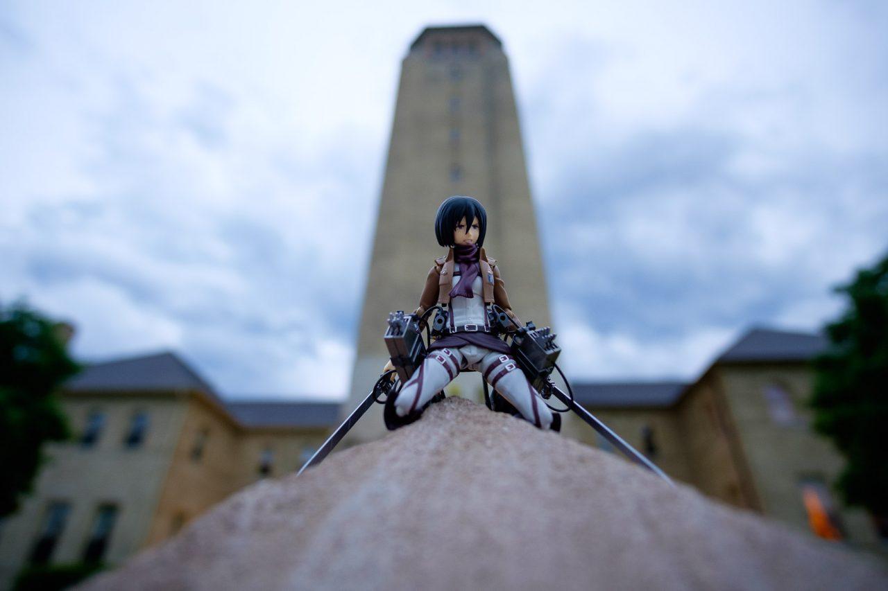 figma Mikasa Ackerman
