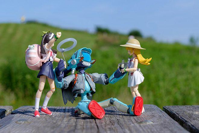 Hachikuji, Shinobu, and Canti