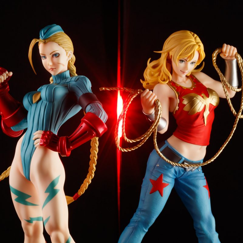 Bishoujo Cammy and Wonder Girl