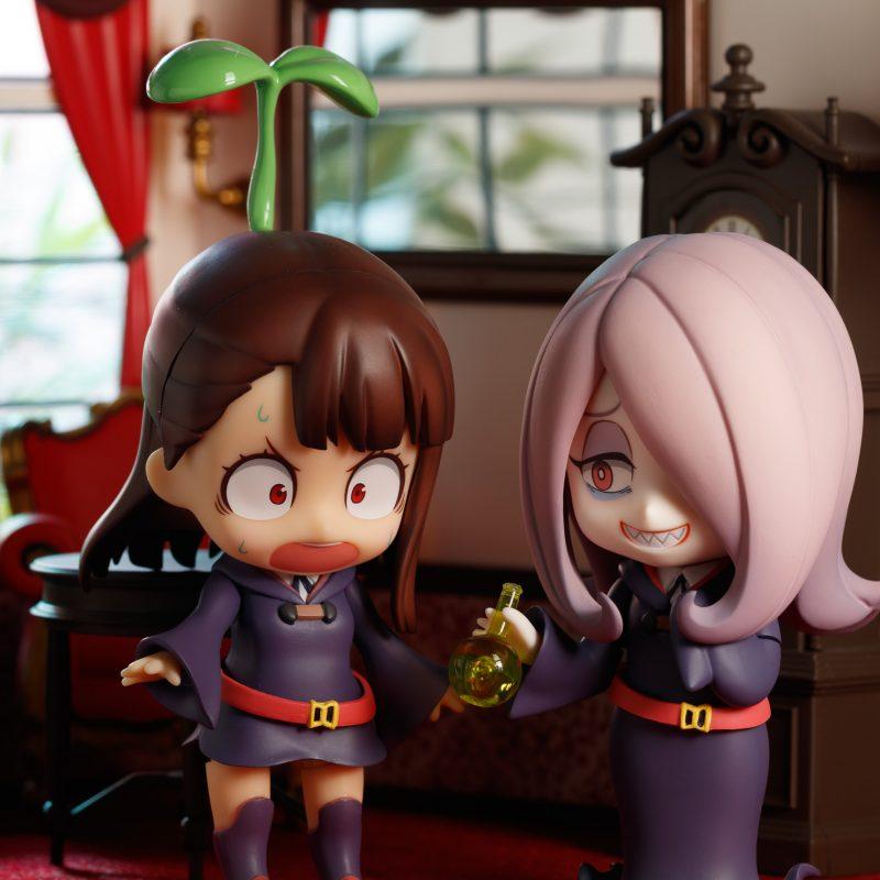 Nendoroid Atsuko Kagari and Sucy Manbavaran