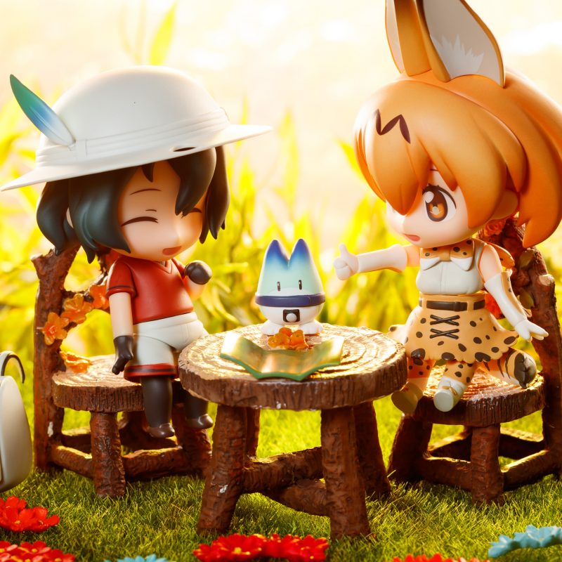 Nendoroid Kaban and Serval